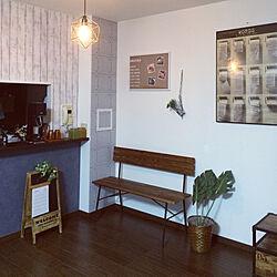 部屋全体/ポスターのある部屋/マンション/ブルックリン風/観葉植物...などのインテリア実例 - 2018-11-07 17:22:21