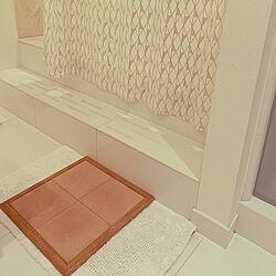 お風呂場/珪藻土バスマット/バスマット/バス/トイレのインテリア実例 - 2020-06-04 06:37:55
