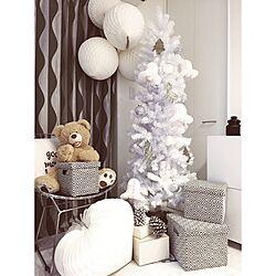リビング/Christmas/Xmas/白い家/クリスマス...などのインテリア実例 - 2015-11-02 12:19:44