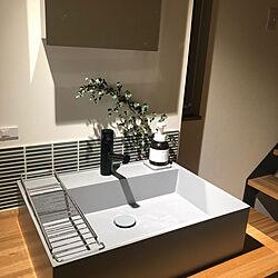 洗面台/ユーカリ/サンワカンパニー/リビングのインテリア実例 - 2020-03-29 01:57:54