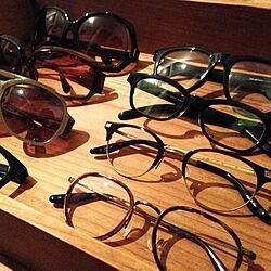 玄関/入り口/見せる収納/眼鏡置き/サングラス/アンティークボックスのインテリア実例 - 2013-08-06 23:06:51