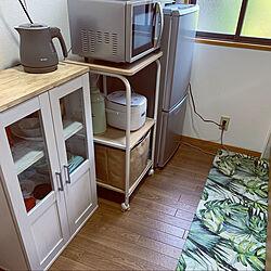 ニトリ/一人暮らし/1LDK/DIY/キッチンのインテリア実例 - 2020-05-23 17:44:45