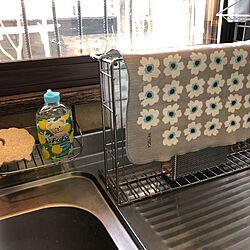 キッチン/水切りマット/北欧/KEYUCAのインテリア実例 - 2018-03-14 09:59:01