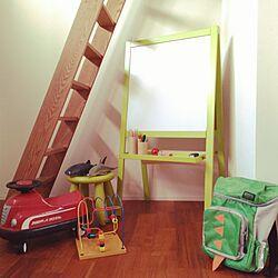 リビング/子供部屋/IKEA/ホワイトボード/おもちゃ...などのインテリア実例 - 2017-04-09 19:07:05