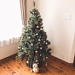 リビング/クリスマスツリー150cmのインテリア実例 - 2018-11-18 12:15:49