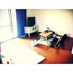 部屋全体/B-COMAPNY/ラグ/リサイクルショップで買った物/テーブル変えたい...などのインテリア実例 - 2014-08-12 11:32:41