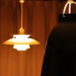 カーテンの無い暮らし/デンマーク家具/セシリエ・マンツ/カラヴァッジォ/ランプ照明...などのインテリア実例 - 2019-08-08 23:52:45