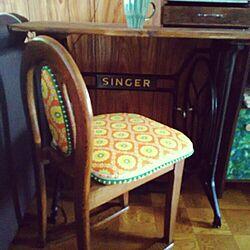 机/アンティーク/椅子 スツール/リメイク/DIY...などのインテリア実例 - 2015-05-18 10:12:01
