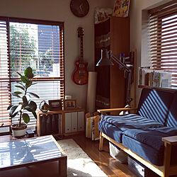 ハンドメイド/DIY/ウッドブラインド/中古住宅/ゴムの木...などのインテリア実例 - 2020-01-19 15:46:38
