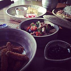 リビング/おせち料理/元旦のインテリア実例 - 2014-01-01 11:17:04