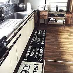キッチン/バスロールサイン/山善すっきりヒーターモニター応募/古道具/シンプル...などのインテリア実例 - 2018-10-17 22:40:16