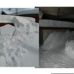 玄関/入り口/雪/外からのインテリア実例 - 2019-01-09 20:48:32