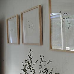 アートギャラリー/シンプルに暮らす/壁/天井のインテリア実例 - 2020-11-03 18:53:54