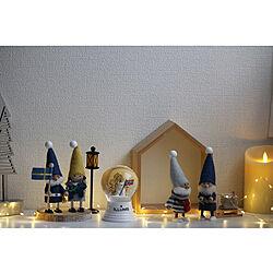 サンタクロース/キッズルーム/子供部屋/クリスマス仕様/LEDライト...などのインテリア実例 - 2020-12-21 22:47:08