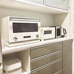 キッチン/TOSHIBA炊飯器/BALMUDA/ニトリ/シンプル...などのインテリア実例 - 2018-12-19 23:44:07