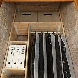 収納棚/壁面収納/壁面ディスプレイ/棚DIY/おうちを好きになる...などのインテリア実例 - 2020-05-04 17:38:00