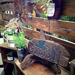 DIY/彫刻/ウッドフェンス/裏庭/流木...などのインテリア実例 - 2014-01-09 12:37:56