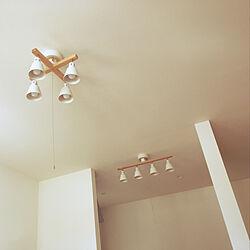壁/天井/ナチュラル/シーリングライト/キッチンの照明/リビングの照明...などのインテリア実例 - 2018-08-11 08:19:56