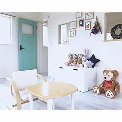 部屋全体/子供部屋&キッズスペース/IKEA/子供部屋/北欧...などのインテリア実例 - 2018-06-17 20:27:32