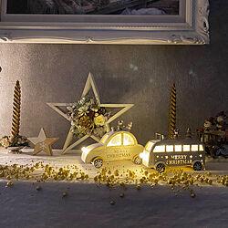 サンタさんはまだ/キャンドル/クリスマスグッズ/ピアノの上/クリスマス...などのインテリア実例 - 2020-11-18 16:56:34