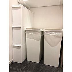 IKEA/ホワイトインテリア/分別ゴミ箱/ごみ箱/ゴミ箱...などのインテリア実例 - 2019-11-26 11:24:19