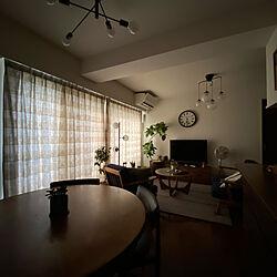 minoソファ/ダイニングテーブル&チェア/gplan/朝の風景/観葉植物...などのインテリア実例 - 2021-08-08 17:50:36