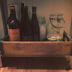 キッチン/木箱/ストック/サンプリング/ワイン...などのインテリア実例 - 2016-05-05 23:37:50