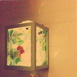 壁/天井/照明/DIY/シーグラスのインテリア実例 - 2013-02-06 13:19:50