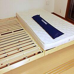 ベッド周り/すのこベッド/組立家具/組立すのこベッド/新居...などのインテリア実例 - 2017-06-18 23:32:47