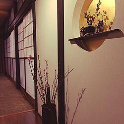 玄関/入り口/タイルカーペット/ももの花/レトロ/日本家屋...などのインテリア実例 - 2017-02-25 01:09:44