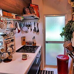 キッチン/ドライフラワー/キッチン収納のインテリア実例 - 2017-09-09 13:40:32
