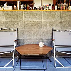 部屋全体/折りたたみテーブル/Hang Out/BESSの家/土間のある暮らし...などのインテリア実例 - 2021-02-08 14:56:59