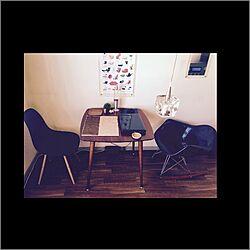 机/一人暮らし/レトロ/北欧/カフェ風...などのインテリア実例 - 2016-03-21 23:58:23