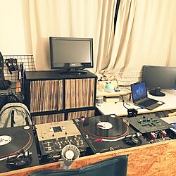 DJ BOOTH/書斎/趣味/DJ部屋/DJブースのインテリア実例 - 2017-01-12 17:42:22