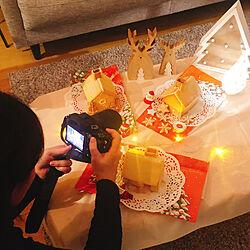 リビング/ニトリ/ホームパーティー/クリスマス/ヘクセンハウス...などのインテリア実例 - 2019-01-02 23:44:31