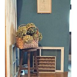 壁/天井/丸イス/木のぬくもり/ねこのいる暮らし/カインズホームのペンキ...などのインテリア実例 - 2020-08-06 19:34:08