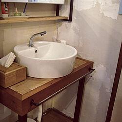 バス/トイレ/DIY/IKEA/リノベーション/セルフリノベーション...などのインテリア実例 - 2017-12-02 11:05:42