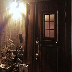 玄関/入り口/LIXIL/パナソニック照明/ケイミュー外壁/LIXILの建具...などのインテリア実例 - 2019-01-13 18:16:14