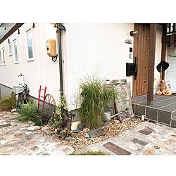 LIXIL玄関ドア/アプローチDIY/お庭のある暮らし/ハロウィン/アンティークレンガ...などのインテリア実例 - 2020-10-02 16:28:08