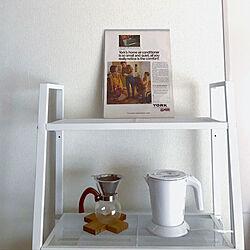 キッチン/IKEA/ホワイトインテリア/一人暮らし/ニトリ...などのインテリア実例 - 2018-05-08 14:25:18
