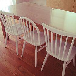 部屋全体/momo natural/アクタス/ACTUSテーブル/白い椅子...などのインテリア実例 - 2014-08-30 09:04:50