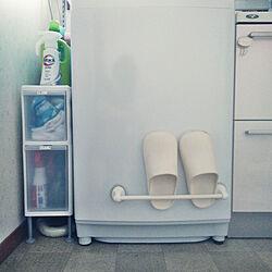 バス/トイレ/すきま収納/スリムストレージ/洗濯機周りのインテリア実例 - 2020-08-09 11:19:28