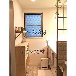 DIY/山善セラミックヒーター/温湿度計/RHYTHM PLUS/A series...などのインテリア実例 - 2019-12-02 17:48:55