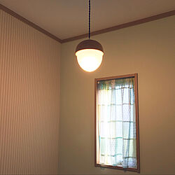 ナチュラル/カフェカーテン/のれん/トイレの壁/トイレ...などのインテリア実例 - 2020-09-10 11:23:08