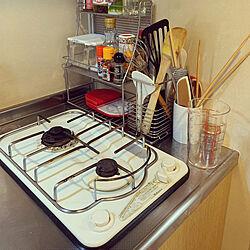 キッチン収納/一人暮らし/キッチン/キッチンのインテリア実例 - 2021-02-22 12:30:24
