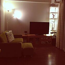 リビング/照明 IKEA/IKEA/間接照明のインテリア実例 - 2013-03-01 22:40:24