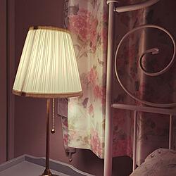 イケア/テーブルランプ/アウトレット品/ベッドサイドランプ/照明...などのインテリア実例 - 2019-04-13 22:04:37