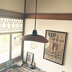 壁/天井/ポスター/麻布/革/照明...などのインテリア実例 - 2017-06-21 08:58:34