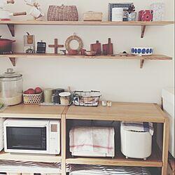 キッチン/mina perhonen/かご/イサド/無印良品 ...などのインテリア実例 - 2014-05-05 16:32:28