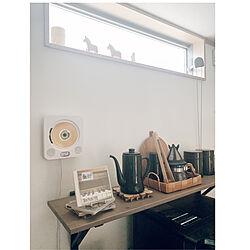 コーヒーセット/IKEA/音楽のある暮らし/CDプレーヤー/壁掛けCDプレーヤー...などのインテリア実例 - 2020-06-07 12:15:40